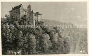 AK / Ansichtskarte Elbogen_Tschechien Schloss Elbogen Tschechien