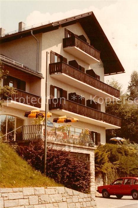 AK / Ansichtskarte Millstatt_Millstaettersee Pension Kraller Millstatt_Millstaettersee