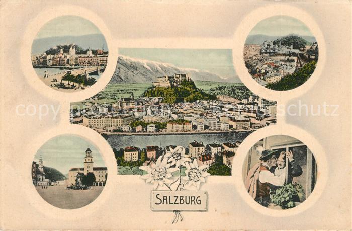 AK / Ansichtskarte Salzburg_Oesterreich  Salzburg_Oesterreich