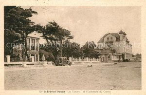 AK / Ansichtskarte Saint Brevin les Pins Les Tamaris esplanade du Casino Saint Brevin les Pins