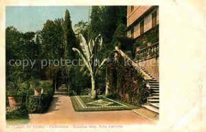 AK / Ansichtskarte Cadenabbia_Lago_di_Como Giardino della Villa Carlotta Cadenabbia_Lago_di_Como