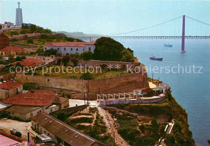 AK / Ansichtskarte Almada Palaecio da Cerca Miradouro Luis de Queiroz Almada
