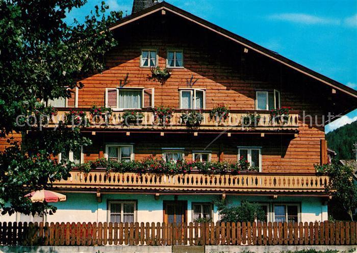 AK / Ansichtskarte Mittersill_Oberpinzgau Pension Steger Mittersill Oberpinzgau