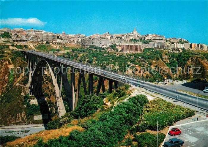AK / Ansichtskarte Catanzaro Viadotto sulla Fiumarella  Catanzaro