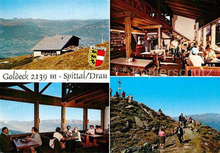 AK / Ansichtskarte Spittal_Drau Gasthaus Goldeck  Spittal Drau