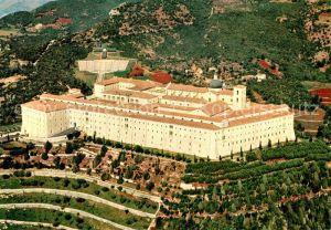 AK / Ansichtskarte Montecassino Abbazia Abtei Fliegeraufnahme Montecassino