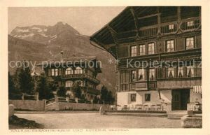 AK / Ansichtskarte Maloja_GR Gantini Haus Osteria Vecchia Maloja_GR