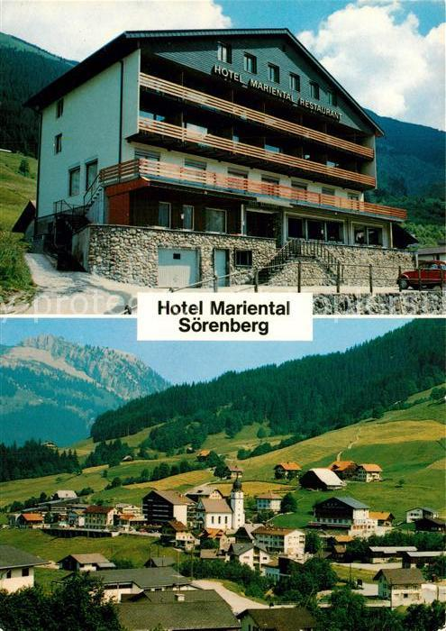 AK / Ansichtskarte Sörenberg_LU Hotel Mariental