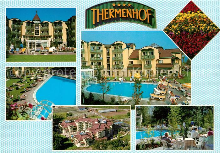 AK / Ansichtskarte Villach_Kärnten Hotel Thermenhof Schwimmbad