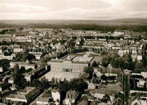 AK / Ansichtskarte Rastatt Fliegeraufnahme mit Schloss Fliegeraufnahme Rastatt