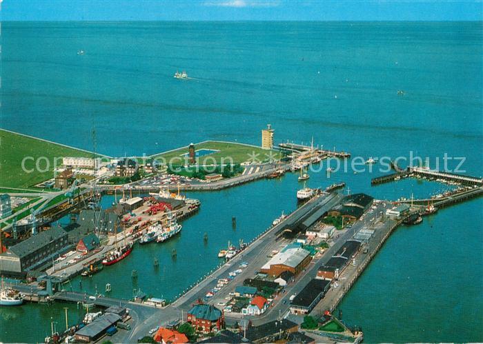 AK / Ansichtskarte Cuxhaven_Nordseebad Alter Hafen mit Seebaederruecke und Alter Liebe Fliegeraufnahme Cuxhaven_Nordseebad