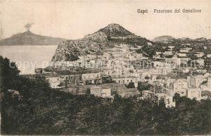 AK / Ansichtskarte Capri Panorama dal Castellone Capri