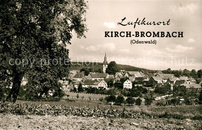AK / Ansichtskarte Brombach_Eberbach Panorama Brombach Eberbach