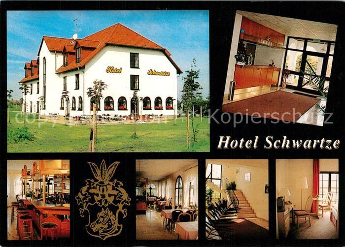AK / Ansichtskarte Gelmeroda Hotel Schwartze Bar Restaurant Treppenaufgang Rezeption Gelmeroda