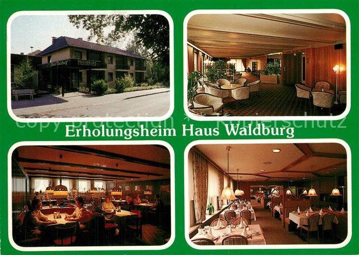 AK / Ansichtskarte Bad_Bevensen Reichsbund Erholungsheim Restaurant Aufenthaltsraum Bad_Bevensen