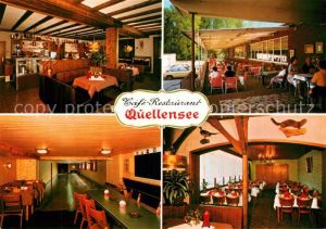 AK / Ansichtskarte Breyell Strandrestaurant Quellensee Cafe Restaurant Breyell