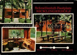 AK / Ansichtskarte Ricklingen Schnellimbiss Rastplatz Ricklingerholz Ricklingen