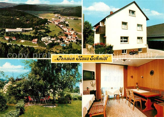AK / Ansichtskarte Gras Ellenbach Pension Haus Schmidt Gras Ellenbach