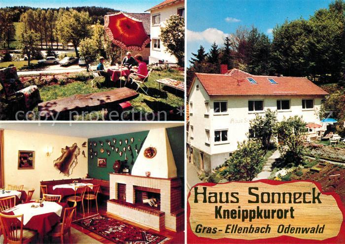 AK / Ansichtskarte Gras Ellenbach Haus Sonneck Gras Ellenbach