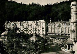 AK / Ansichtskarte Karlovy_Vary Parkhotel Moskva Cedok Karlovy Vary