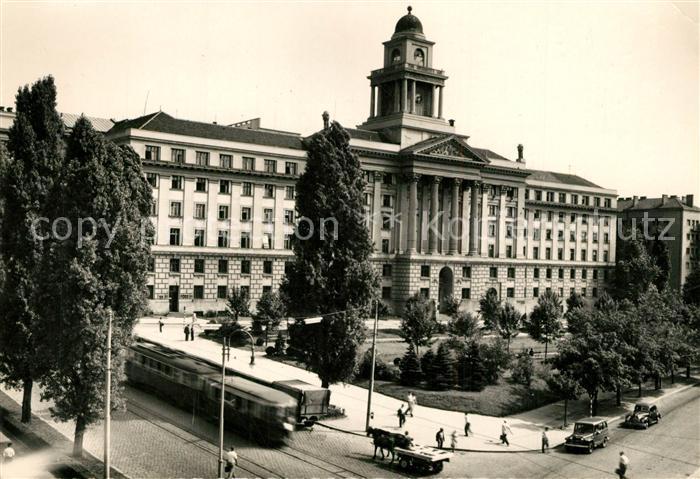 AK / Ansichtskarte Beograd_Belgrad Direkcija zeleznica Eisenbahndirektion Strassenbahn Beograd Belgrad