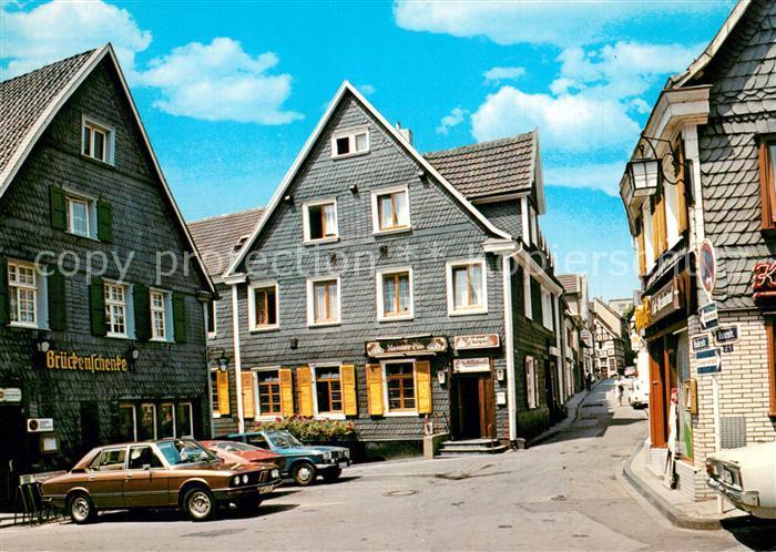 AK / Ansichtskarte Kettwig Gaststaette Zur Altstadt Kettwig