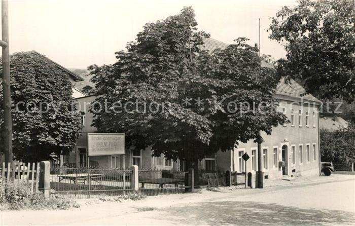 AK / Ansichtskarte Sebnitz Gasthaus Gruene Wiese Sebnitz