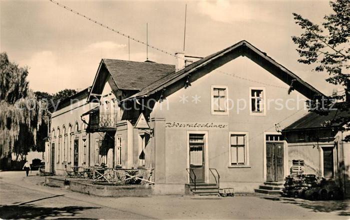 AK / Ansichtskarte Liegau Augustusbad Roedertalschaenke Liegau Augustusbad