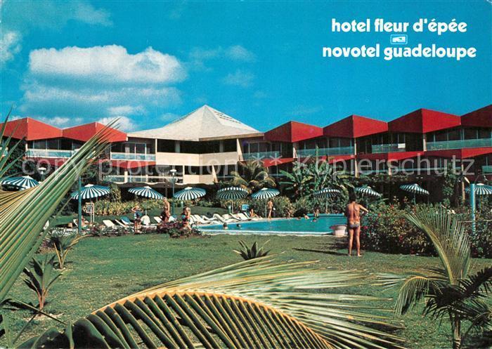 Ak Ansichtskarte Gosier Hotel Fleur D Epee Novotel Swimming Pool