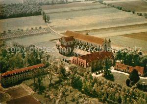 AK / Ansichtskarte Pontigny Eglise abbatiale vue aerienne Pontigny