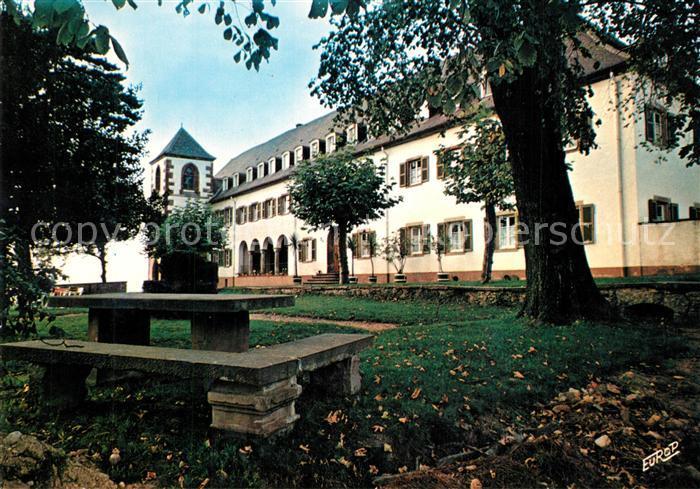 AK / Ansichtskarte Woerth_Bas_Rhin La Maison de l Eglise Liebfrauenberg Goersdorf Centre de Rencontres Maison Familiale de Vacances Woerth_Bas_Rhin