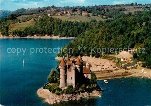 AK / Ansichtskarte Bort les Orgues Chateau de Val Vue aerienne Bort les Orgues