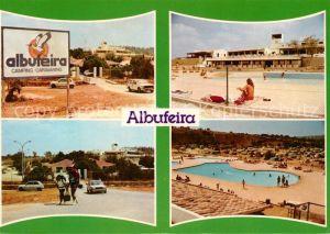 AK / Ansichtskarte Albufeira Camping Caravaning Swimmingpool Albufeira