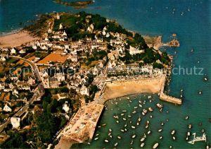 AK / Ansichtskarte Locquirec Le port Vue aerienne Locquirec