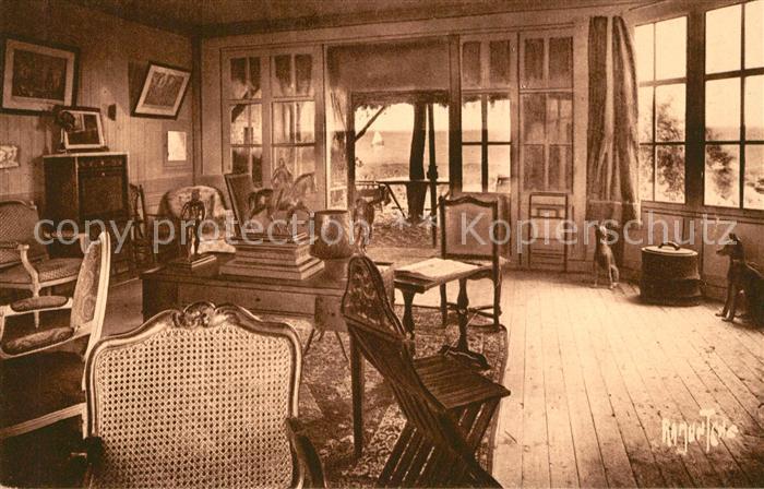 AK / Ansichtskarte Saint Vincent sur Jard Bel Esbat Salon du President Georges Clemenceaux Saint Vincent sur Jard