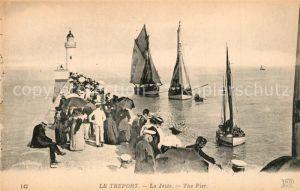 AK / Ansichtskarte Le_Treport La Jetee Le_Treport