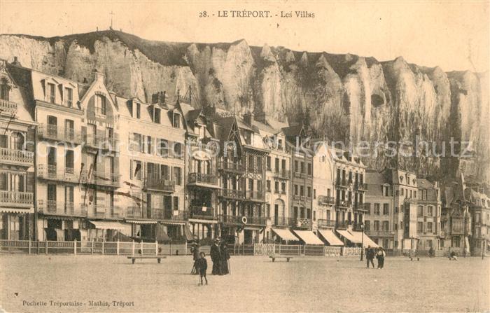 AK / Ansichtskarte Le_Treport Les Villas et les Falaises Le_Treport