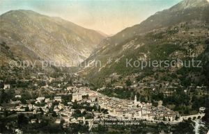 AK / Ansichtskarte Saint Martin Vesubie Vue generale et les Alpes Saint Martin Vesubie
