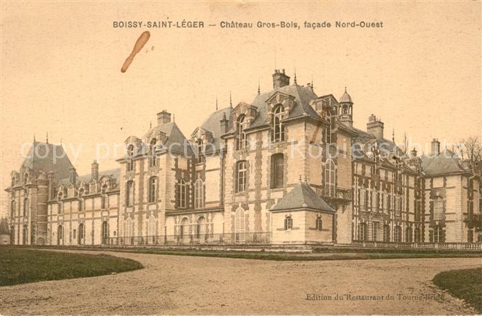 AK / Ansichtskarte Boissy Saint Leger Chateau Gros Bois Boissy Saint Leger