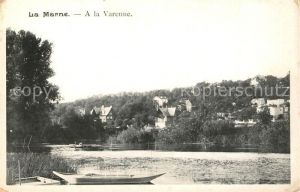AK / Ansichtskarte La_Varenne Aux bords de la Marne La_Varenne