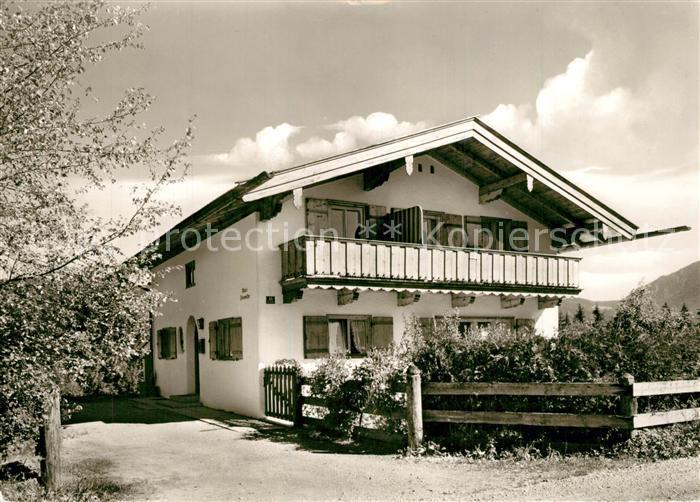 AK / Ansichtskarte Rottach Egern Haus Zinsmeister Rottach Egern