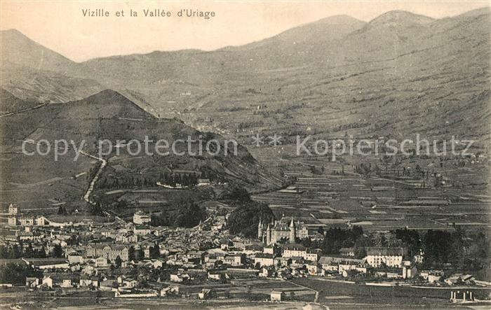 AK / Ansichtskarte Vizille et la Vallee d Uriage Vizille