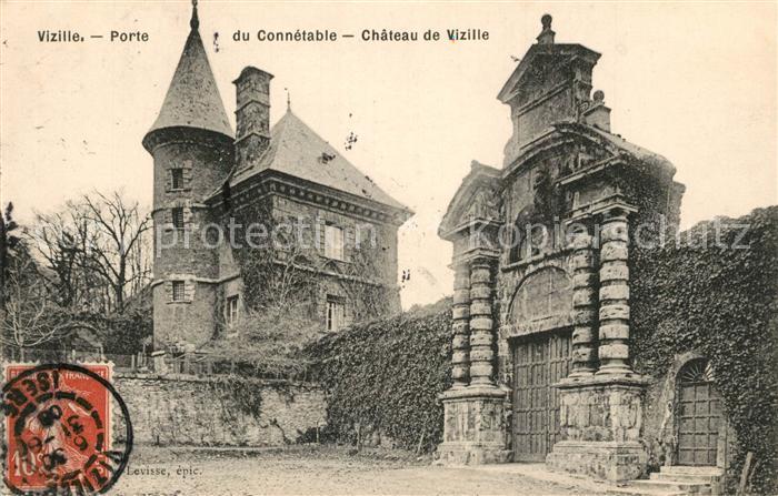 AK / Ansichtskarte Vizille Porte du Connetable Chateau Vizille
