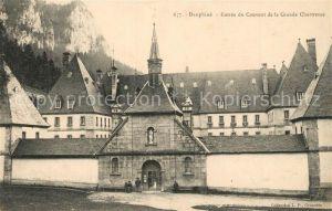 AK / Ansichtskarte Saint Pierre de Chartreuse Entree du Couvent de la Grande Chartreuse Kloster Saint Pierre de Chartreuse