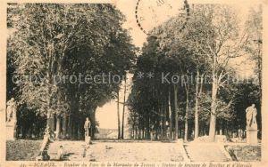 AK / Ansichtskarte Sceaux_Seine Escalier du Parc de la Marquise de Trevise Statues Sceaux Seine