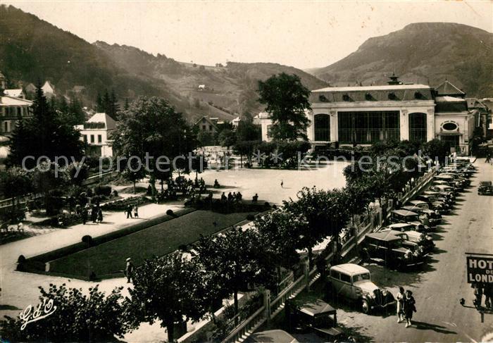 AK / Ansichtskarte Le_Mont Dore Parc du Casino Le_Mont Dore