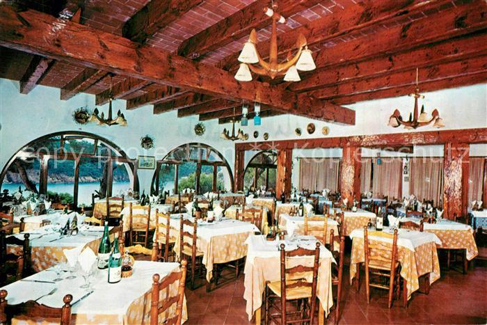 AK / Ansichtskarte Aigua_Blava Hotel Aigua Blava Comedor Aigua_Blava ...