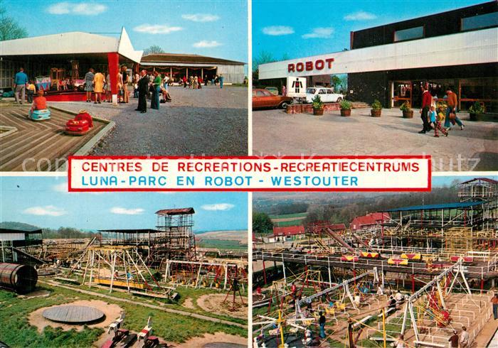 AK / Ansichtskarte Westouter Centres de Recreations Recreatiecentrums Luna Parc en Robot Westouter