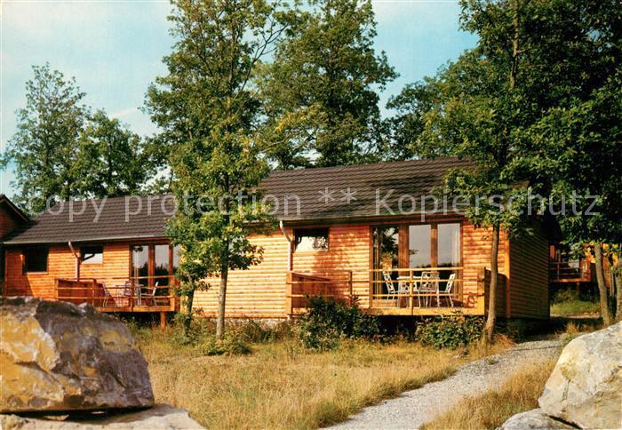 AK / Ansichtskarte Heure_en_Famenne Village de vacances Le Bochetay Vakantiedorp Bungalow