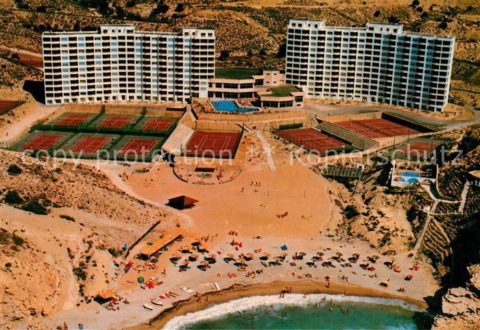 AK / Ansichtskarte Costa_Blanca_Villajoyosa Euro Tennis Club Hotel Costa Blanca vista aerea